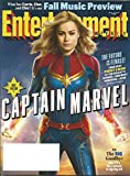 Entertainment Weekly Magazine ~ September 14, 2018 ~ CAPTAIN MARVEL