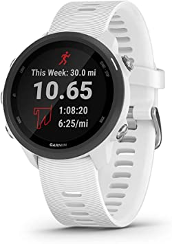 Garmin Forerunner 245, GPS Running Smartwatch with Advanced ...
