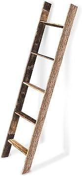 5ft Blanket Ladder 5ft Rustic Blanket Ladder Nursery Blanket Ladder Towel Ladder Wooden blanket ladder Blanket Ladder