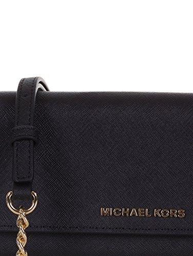 MICHAEL KORS DONNA Borsa a spalla, 32F4GTVC9L 001 NERO, 20x10x4 cm