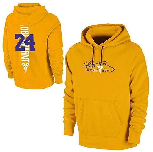 Haoshangzh55 Hoodie L.A. - Sudadera de Baloncesto Lakers # 24 Kobe ...