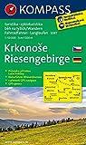 Riesengebirge / Krkonose: Wanderkarte mit Naturführer tschechisch /deutsch, Radrouten und Loipen. GPS-genau. 1:50000 (KOMPASS-Wanderkarten, Band 2087)