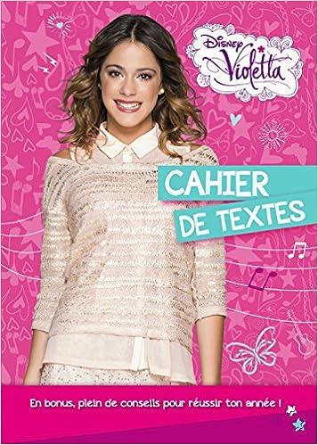 Livre gratuits Violetta Cahier de textes pdf epub