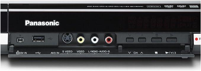 Panasonic Dmr Eh 775 Eg K Dvd Und Festplattenrekorder Upscaling 1080i Divx Zertifiziert 400 Gb Schwarz Heimkino Tv Video