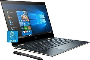 "2019 HP Spectre x360 13t Gem Cut with 13.3"" 2 in 1(i7-8565U, 16GB, 512GB PCI NVMe SSD, FHD IR Cam, HP Pen, 3 Yrs McAfee Internet Security, Windows 10 PRO Upgrade, HP Worldwide Warranty, Poseidon Blue"