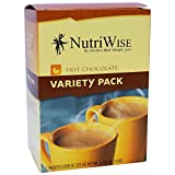 NutriWise – Variety Pack Hot Chocolate Protein Drinks (7 packets/box) For Sale