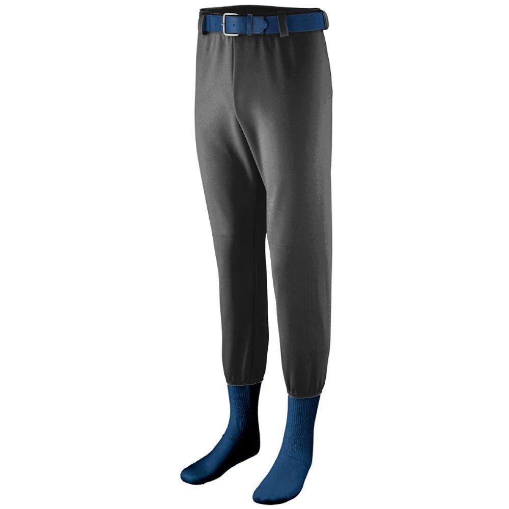 Augusta Sportswear Boys ' pull-up Pro野球パンツ B00QFI6KKUブラック XL