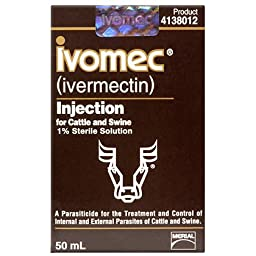 Ivomec Injection 1% 50ml Btl