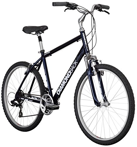 Best of Diamondback Bicycles 2016 Wildwood Classic Complete Comfort Bike, Blue, 19″ Frame