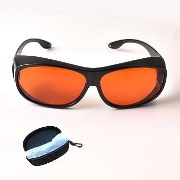 Color Azul Gafas de Seguridad l/áser para viga l/áser Violeta de 405 NM Lentes Naranjas OD4 TWINSWOLF Marco Negro certificaci/ón CE 450 NM 490 NM protecci/ón Completa de 190 VLT 50/%
