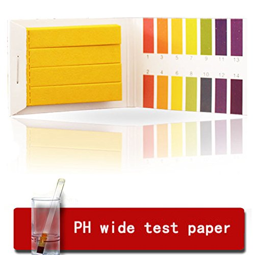 Camlab 1192615 pH Indicator Testing Strips pH 0.0-6.0 Pack of 100