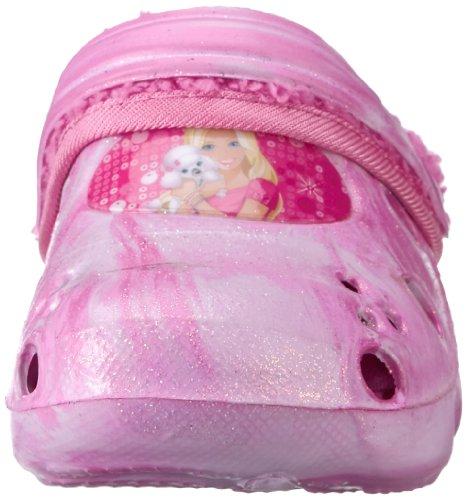 Barbie kids & mules BA450038 Mädchen Clogs & Pantoletten Mehrfarbig (PINK FUXIA/FUXIA)