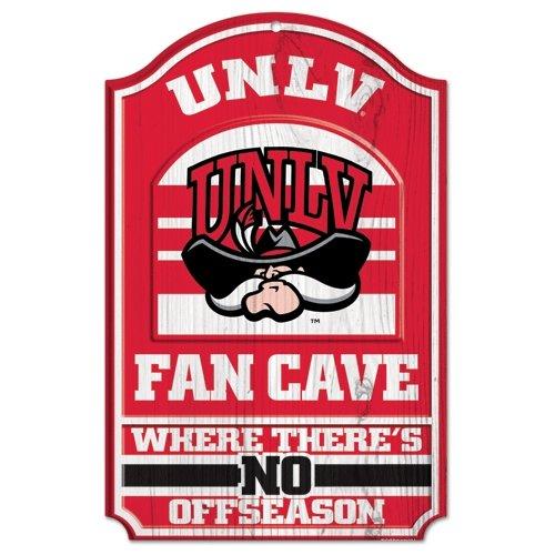 WinCraft NCAA University of nevada-ラスベガス木製サイン、11