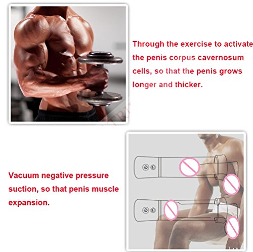 Automatic Penis Enlarger USB Rechargeable Electric Automatic Penis Girth Enlargement Pump Penisgrowth Pump Electric Penisextender Length Device for Men