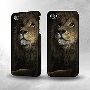 Apple iPhone 4 / 4S Case - The Best 3D Full Wrap iPhone Case - Lion 2
