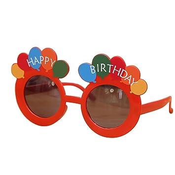 OULII Happy Birthday Gafas de Sol de Feliz cumpleaños Gafas ...