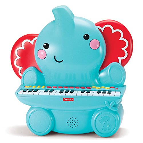 Fisher Price Music - Keyboard/Piano - Elephant - Great for Kids Play & Early Learning
