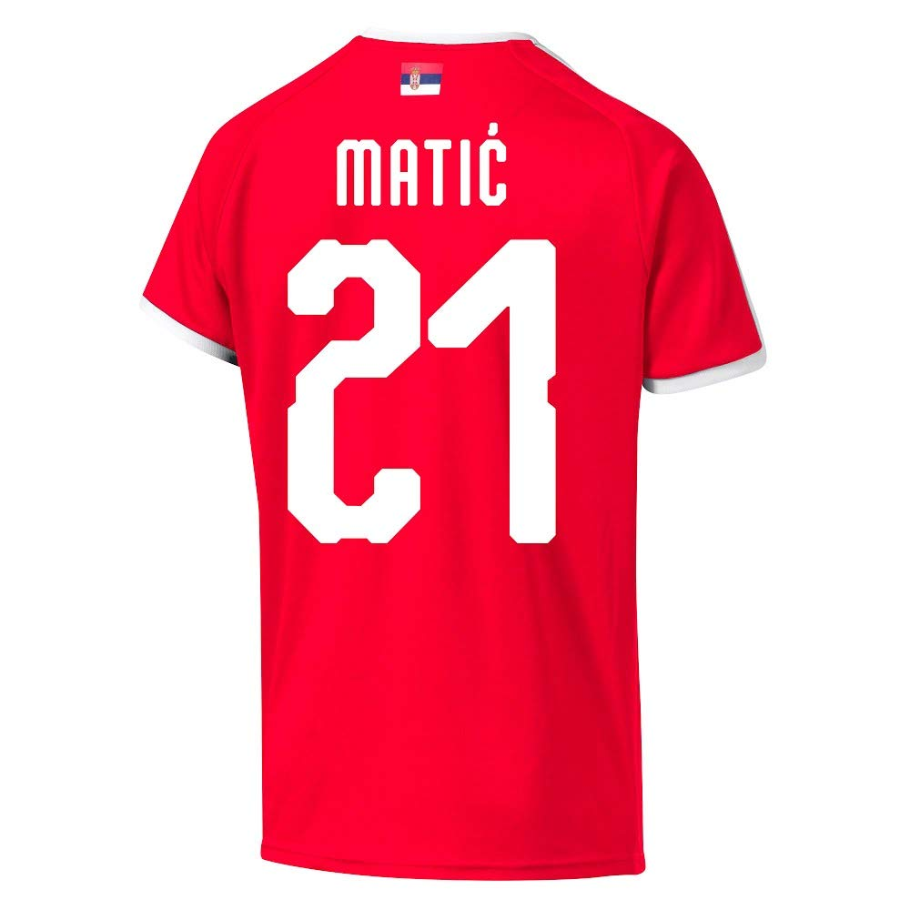 reputable site b2e45 85dc5 Serbia Home Matic 21 Jersey 2018/2019 (Official Printing ...