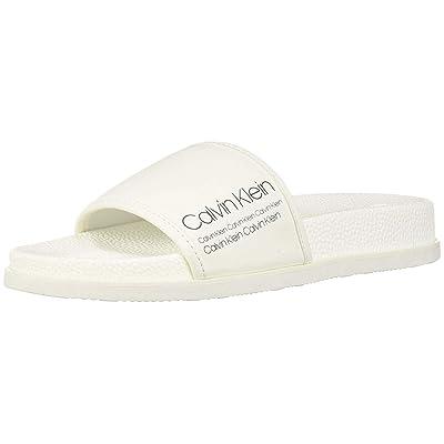 Amazon.com | Calvin Klein Men's Mackee Slide Sandal | Sport Sandals & Slides