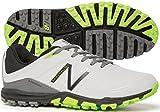 New Balance Men's Minimus Golf Shoe, Grey/Green, 13 D US