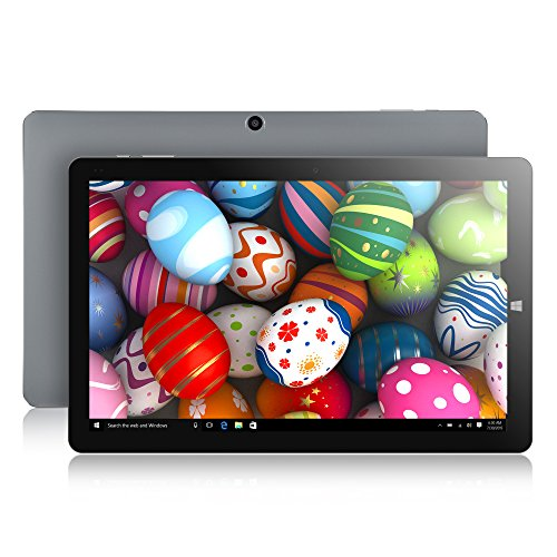 CHUWI HiBook Pro 10.1 inch Windows 10/Android 5.1 Dual Boot 2-in-1 Tablet with Ultra HD, Full Laminated Display, Intel Cherry Trail Z8350 Quad-Core Processor, 4G RAM and 64GB ROM, Type-C and HDMI