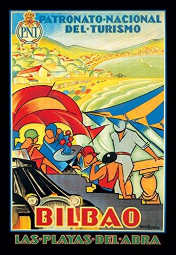 Buyenlarge Bilbao Las Playas Del Abra by Colde Guezala Wall Decal, 48'' H x 32'' W by Buyenlarge