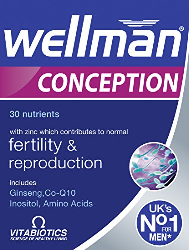 Vitabiotics Wellman Conception Tablets 30 Capsules