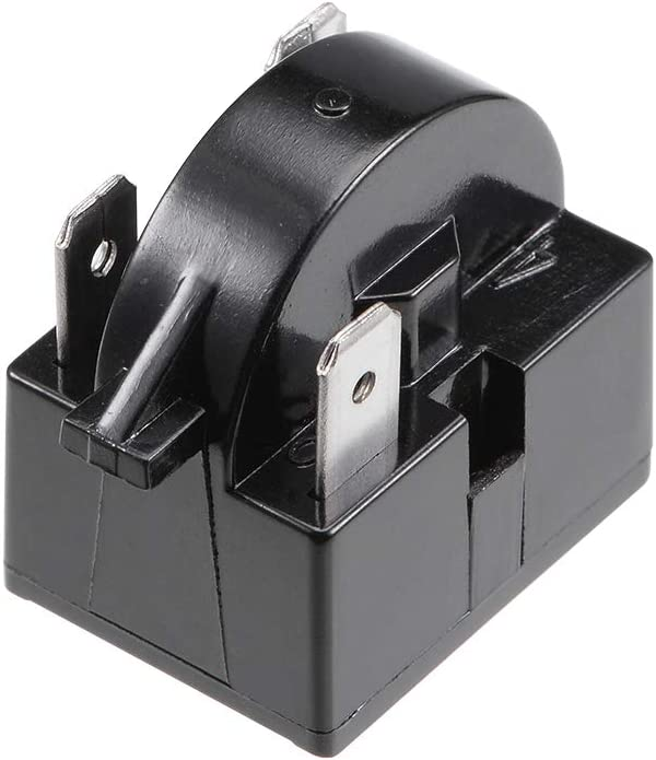 1//6HP Protector Sourcingmap PTC Starter Relais Kompressor Thermo-/Überlastschutz 1//6 PS 125 W 15 Ohm 2 Pin Starter