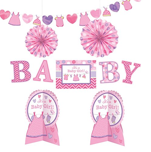 Shower with Love Girl Room Decorating Kit]()