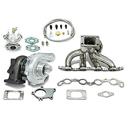 Amazon.com: High Performance Upgrade T04E T3 5pc Turbo Kit - 4A-GE Engine: Automotive