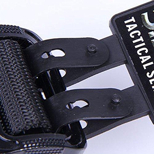 Desconocido Nylon Ajustable Cinturón Militar Cinturón de Rappel Táctica Cintura - Caqui: Amazon.es: Deportes y aire libre