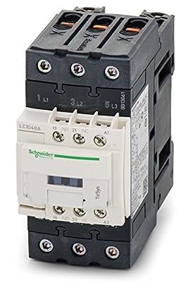 Schneider Electric - Lc1d50ag7 - Contactor, Spst-no/spst-nc, 3p, 120vac, 50a