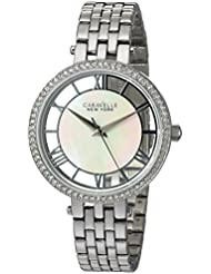 Bulova Womens Quartz Stainless Steel Casual Watch, Color Silver-Toned (Model: 43L183)