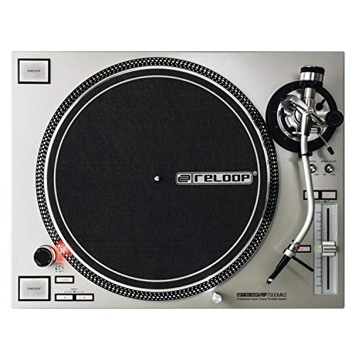 Reloop RP-7000 MK2 Direct Drive Turntable - Silver