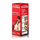 Children's Tylenol Oral Suspension Medicine with