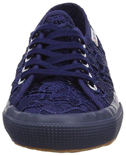 Superga 2750 Macramej, Sneakers Basses Mixte Enfant Blue (Blue Navy)