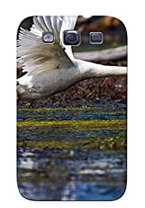 Durable Bird In Flight Back Case/cover For Galaxy S3 by supermalls