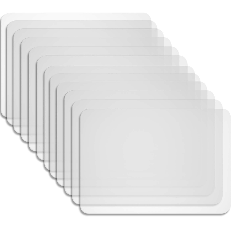 Boao 12 Piezas Manteles Iindividuales de Plástico Manteles ...