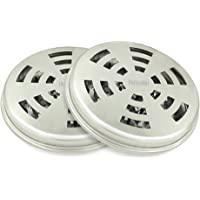 MyLifeUNIT Mosquito Coil Holder, Tin Mosquito Sandalwood Incense Coil Burner (Set of 2)