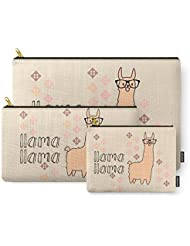 Society6 Llama Llama Carry-All Pouch