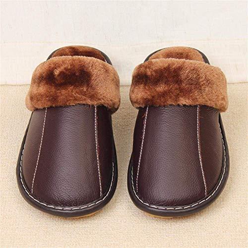 Intérieur Les Oudan Coton 38 Marron 35 Chaussures Maisons Des Chaudes Marron 37 De Taille D'hiver 36 Sol Cuir 40 39 Pantoufles 37 coloré Dans 38 En EqqYwxPS