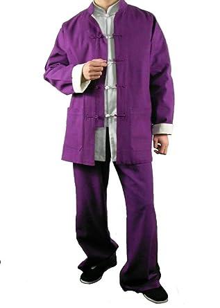 Prima Lino Violeta Kung Fu Artes Marciales Taichi Traje Uniforme ...