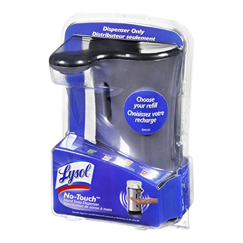 Lysol No Touch Automatic Hand Soap Dispenser Colors Vary