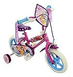 Disney Princess Girl Bike Purple, 12-Inch