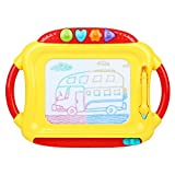 Peradix Doodle Magnetic Drawing Board Sketch Tablet Education Writing Drawing Painting Colorful Erasable Toy for Toddler Kids