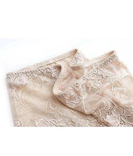 Sisann - Culottes - para mujer Schwarz+Beige