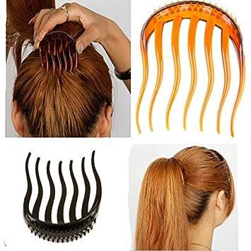 Amazon Com 2pc Elegant Magic Bump It Up Volume Inserts Hair Clip