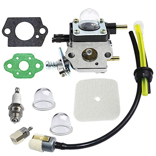00 Primed Part - IKADEER Carburetor with Replacement Parts for 2 Cycle Mantis 7222 7222E 7222M 7225 7230 7234 7240 7920 7924 Tiller Cultivator
