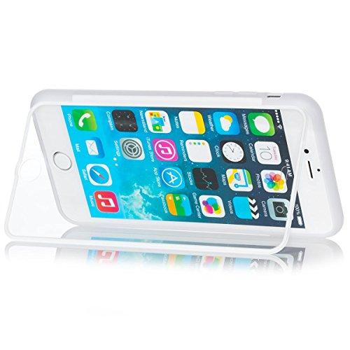 ICues coque en tPU avec film de protection d'écran pour apple iPhone 6 plus transparent