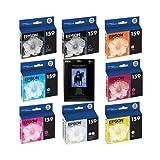 Epson Complete Ink Cartridge Set for Epson Stylus Photo R2880 Printer